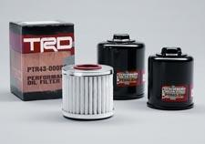 a high-tech, race-ready appearance. Its finished with a high-luster coating to maintain appearance for years to come. TRD Oil Filter $19.