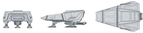 CS-6 (VESS'RU) CLASS II COURIER/SCOUT II II II II A B C E Date Entering Service - 2263 2268 2373 2280 Number Constructed - 2350 1350 350 260 Superstructure Points - 4 4 4 6 C C C C 35 m 35 m 35 m 35