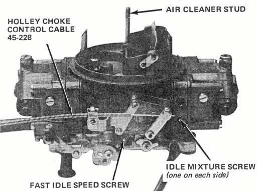 Figure 7 Figure 8 GENERAL INFORMATION: A. FUEL PRESSURE: This carburetor has been designed to work best at fuel pressures between 5 and 7 psi.