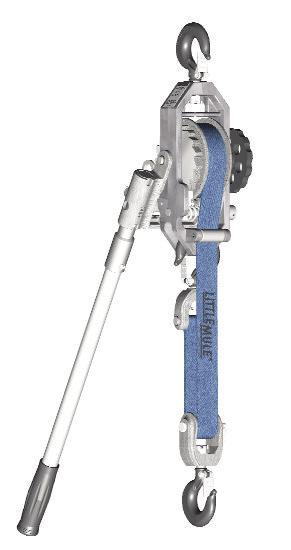 verified by Coffing Hoists/Little Mule, repair or replacement of the hoist will be made to the original purchaser without charge and the hoist will be returned, transportation prepaid.