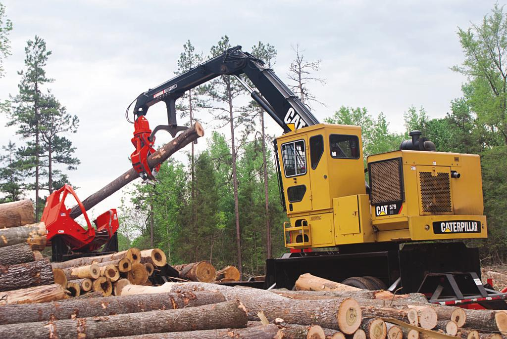 Cat Knuckleboom Loader Features Power Train Powerful Cat engines meet applicable EPA emissions standards.