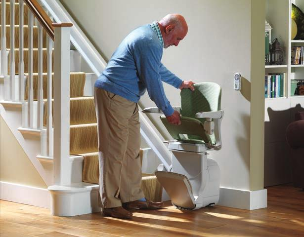 Stylish and space-saving The ultimate in stairlift flexibility - that s our Starla stairlift. We have made the Starla incredibly adaptable to give you your perfect stairlift.