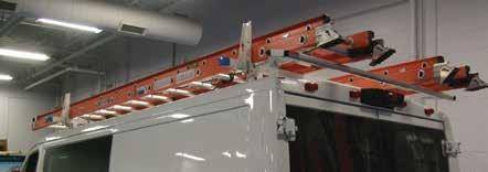 Grip Lock Rack & Aluminum Utility Rack PROMASTER CITY GRIP-LOCK RACK FEATURES AND BENEFITS ProMaster & GRIP YOUR LADDERS SECURELY WITH ADRIAN S LOCKING STYLE LADDER RACKS.