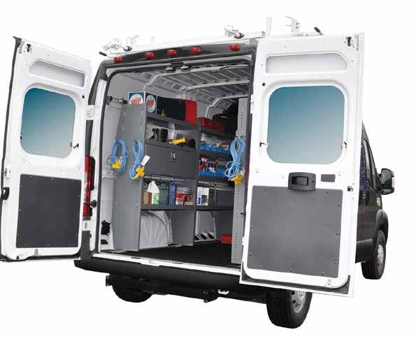 Make Your Cargo Van Work Ready ProMaster & TIME IS MONEY! GET ON THE ROAD WITH EVERYTHING YOU NEED!