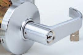 Series locksets are supplied standard with Arrow A keyway, 6 pin cylinder.