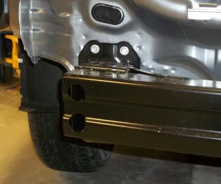 5. Bumper removal: Remove the (8) bolts holding