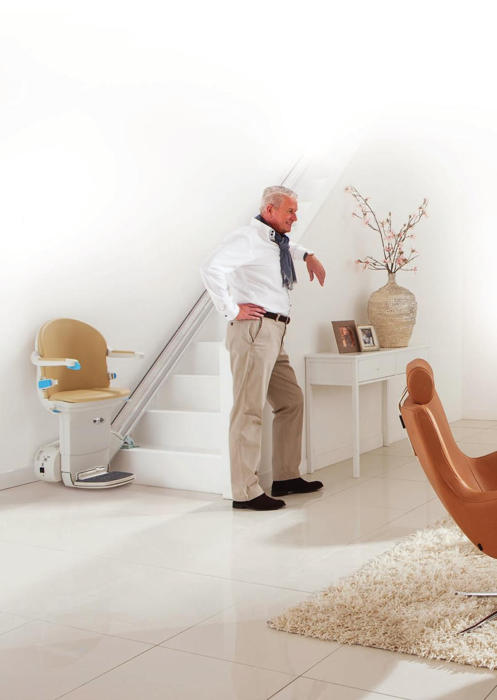 The benefits of a straight stairlift from Handicare If you are thinking about installing a stairlift, Handicare stairlifts offer you a safe and reliable solution.