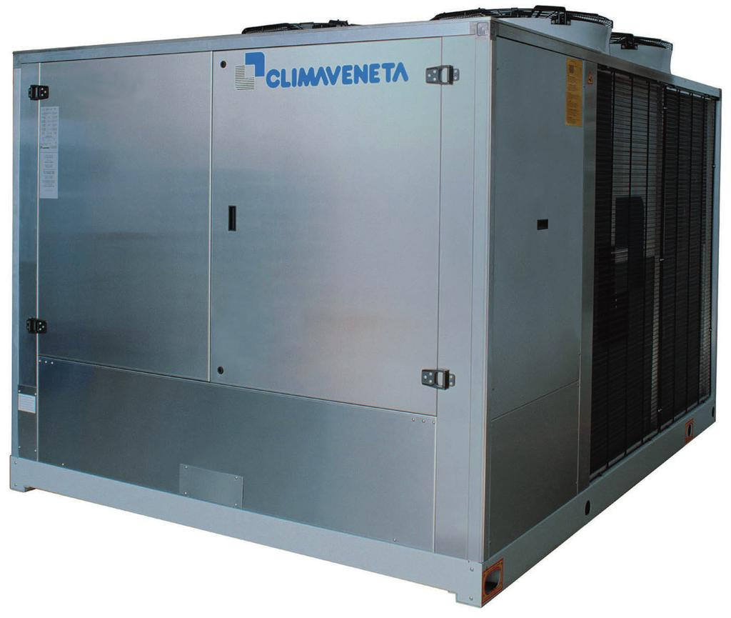 Climaveneta Technical Bulletin _1542_242_200909_GB 1542-242 277-51 kw Air-cooled water chiller with helical fans (The