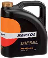 DIESEL MULTITURBO 25W50 API SF/CF Multi-grade lubricant oil suitable for gasoline or diesel vehicles which are normally run under moderate working conditions.