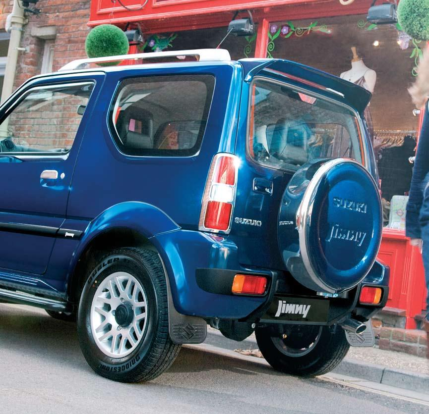 6 The Jimny is an individual and we re guessing you are too. From subtle design details to bold style statements, there are plenty of options to choose to really personalise your Jimny.