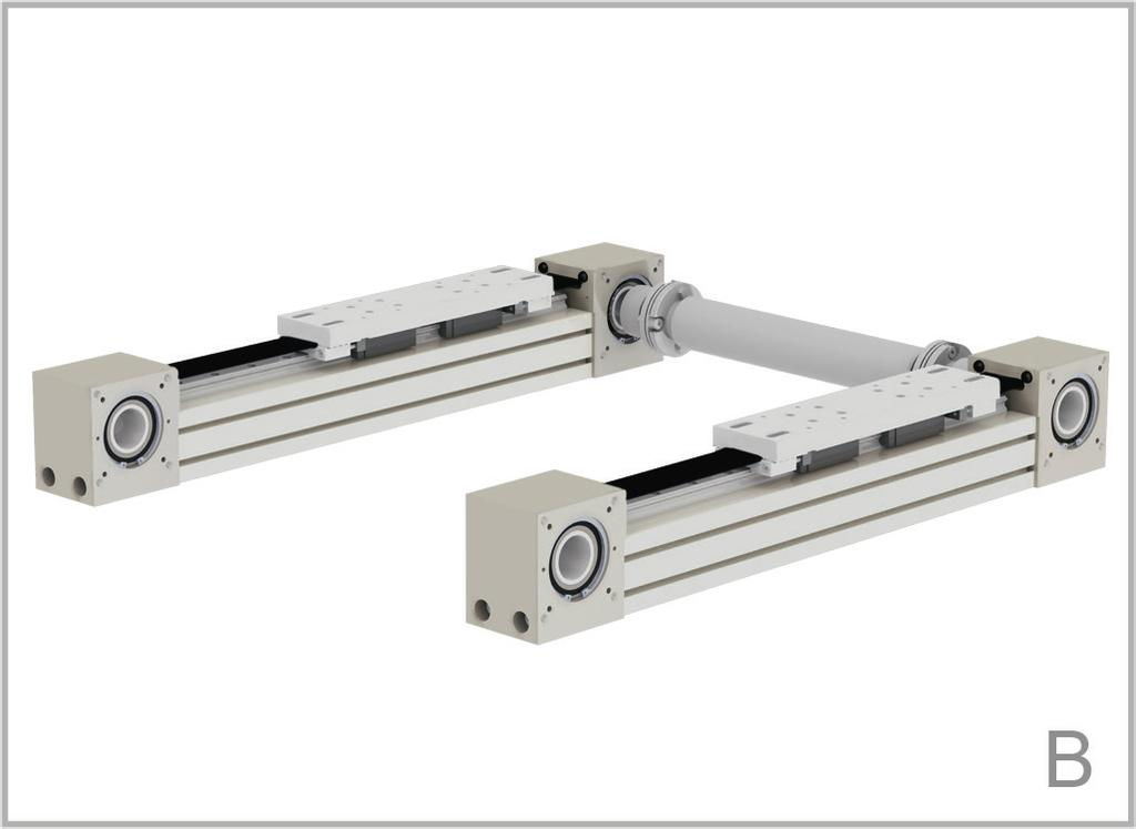 Rollco now offers a set of components, including brackets and plates, to enable multiaxis units to be built.