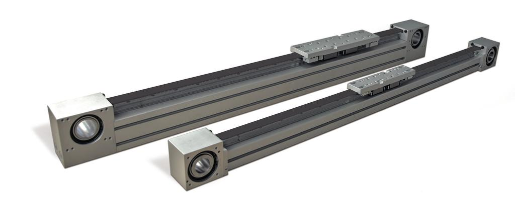 PRODUCT OVERVIEW Product Overview The linear motion system The linear motion system has been designed to meet the load capacity, speed, and maximum acceleration conditions of a wide variety of