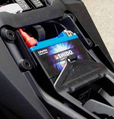 Charging A Shido Lithium battery can be charged quickly with a