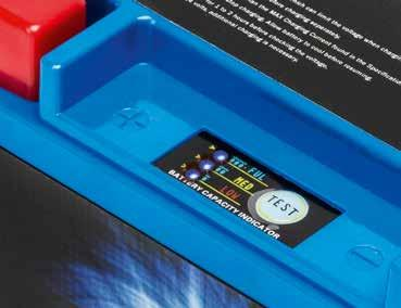 Safe A Shido Lithium battery is completely maintenance-free,