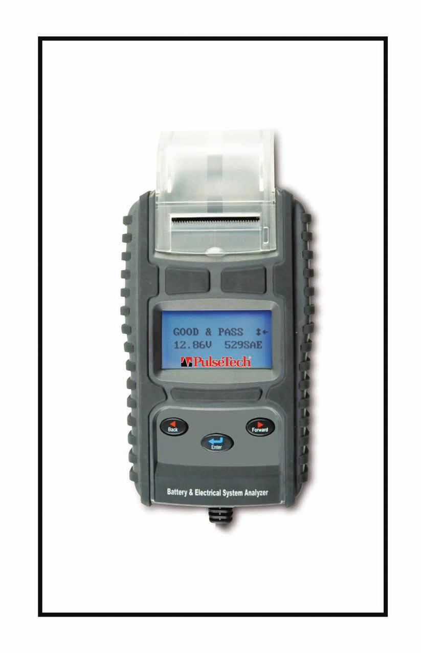 777P-PT Battery Charging/Starting System Analyzer with Printer For