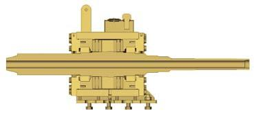 HYDRAULIC SYSTEM Carriage Assembly The adjustable upper vise is