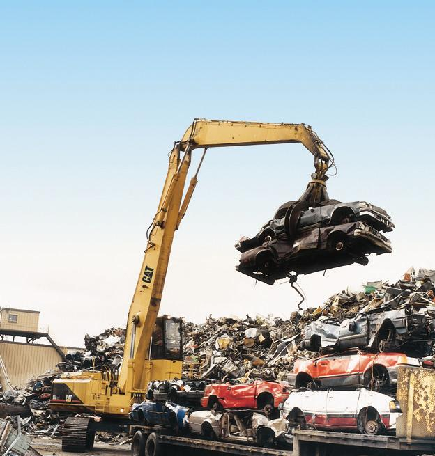 0 MH Material Handler The Cat 0 Material Handler is specifically designed for the scrap and material handling customer.