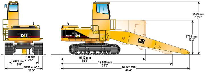 Standard Equipment Note: Standard equipment may vary. Consult your Caterpillar dealer for specifics.