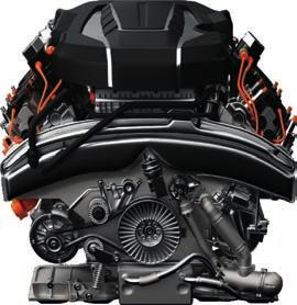 With GTS Black, GTS and RS, we give you a warranty on your engine as well: All important engine components are covered Still applies after the