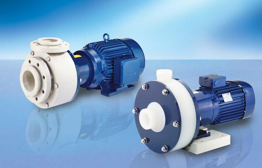 RM MAGNETICALLY COUPLED CENTRIFUGAL PUMPS TYPE 5 Delivery rate up to 1.