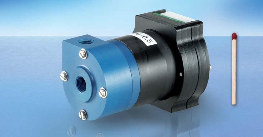 MAGNETICALLY COUPLED CENTRIFUGAL MINI-PUMP TYPE RM-COOL TYPE 0.