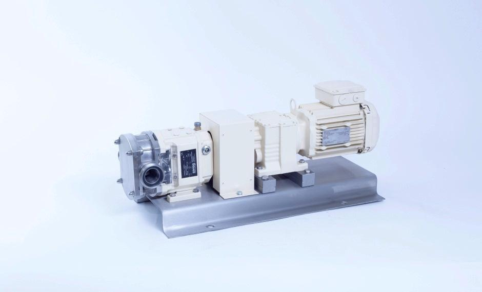 INDUSTRY APPLICATION Rotary lobe pumps type B are positive displacement pumps for liquids of any viscosity with lubricating and non-lubricating properties.