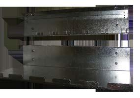 CANTILEVER SHELF 3RU x 300mm deep 19DC53x1 Powder