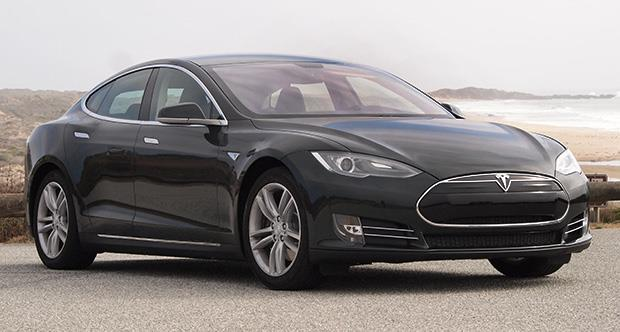 electric range Tesla Model S