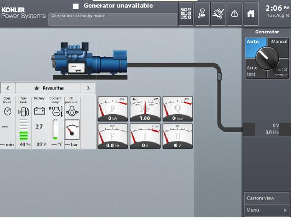 D The generator set and its components are prototype-tested, factory-built, and production-tested.