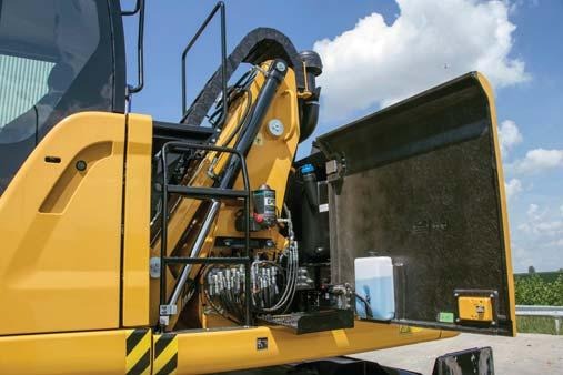 When it comes to moving material quickly, you need efficient hydraulics the type the MH Series can deliver.
