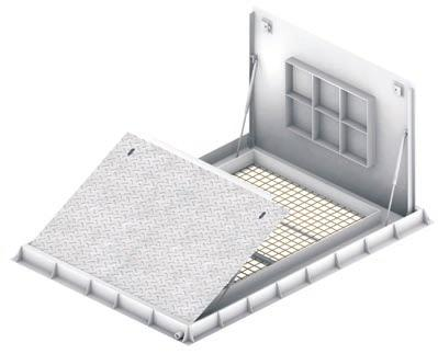 ACCESS COVERS & DRAINAGE SYSTEMS ASSIST LIFT COVERS Single Cover / Double Cover A range of single/ double unit Assist Lift Covers manufactured from mild steel plate.