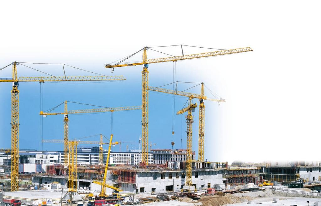 The modular-element system offers much greater benefits. Liebherr tower cranes are of modular design so that every crane can be configured to meet individual requirements.