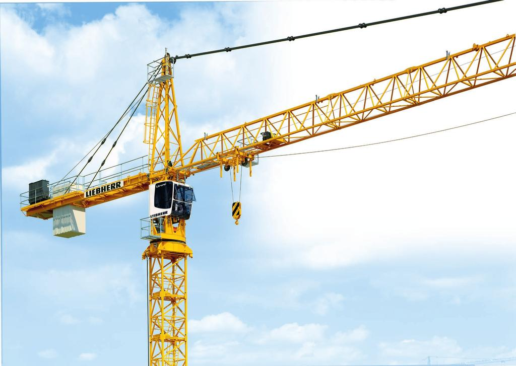 tronic version or as EC-H Litronic cranes, which can sustain up to 20 percent higher loads at the push of a button.