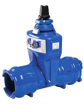 Blutop Continued Valves DN/OD Weight Push-Fit Resilient Seated Gate Valve for Blutop or Plastic Pipes Anti-clockwise Close with Cap Top P79169