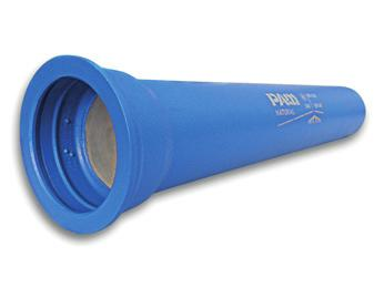 Saint-Gobain PAM Ductile Iron Pipe & Fittings Natural Push-Fit Pipes Water Application The PAM Natural range is a pipeline product dedicated to potable water applications, with a superior