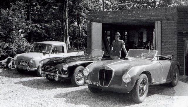Soon after this Steady managed to purchase a famous an ex-mille Miglia Lancia Astura and decided he would finally agree to sell me the short Astura; 400 lighter, I towed the car home.