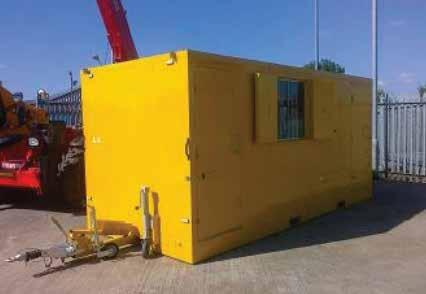 07 09 Site Accommodation WELFARE UNITS A range of mobile and static welfare units designed to provide Welfare facilities fully in compliance with Health & Safety requirements when there are no mains