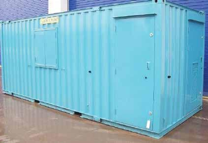 13 Site Accommodation 20x8 HARBOUR UNIT 6.1m Fan 2.4m Generator Drying Harbour Unit (6.1m x 2.4m): big on the inside but the lightest and smallest static for tight sites.