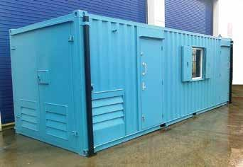 14 24x9 ADMIRAL UNIT Admiral Welfare Unit (7.3m x 2.7m): top quality welfare and power for a separate office. The Admiral 8-person Welfare Unit provides a very high standard of facilities.