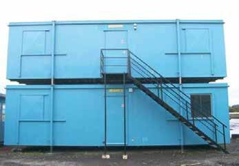 Our Blast Resistant Units are either stand alone or linked door to door to provide combinations of offices, meeting rooms, kitchens and toilets as well as welfare facilities including canteens,