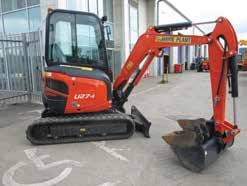 Excavator, Excellent Dig Depth and Tipping Height, Zero Tail Swing.    Hydraulic Breakers Compactors XC30-HC150