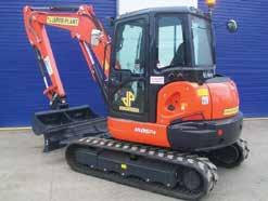 Accessories Hydraulic Breakers, Powertilt, Compactors XC50-HC450 Powerful Mini Excavator, Excellent Dig Depth and Tipping Height, Offset