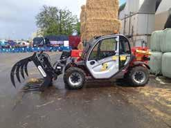 5 Ton 2,105mm CAPACITY 3 Ton 2,070mm CAPACITY 5 Ton These semi-industrial forklifts are smaller and more compact than the rough terrain series and offer excellent