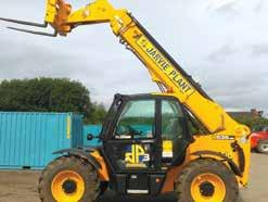 Accessories FLTXEXTF, FLTXHOP, FLTXHOOK, FLTXBG, FLTXBV, FLTXBUC & FLTXBRUSH Full sized 3 stage telescopic handler, compact with a 3.5 tonne lift capacity.