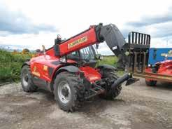Accessories FLTXEXTF, FLTXHOP, FLTXHOOK, FLTXBG, FLTXBV, FLTXBUC & FLTXBRUSH Smallest Telescopic Handler in the fleet with stabilisers which deploy within the width of