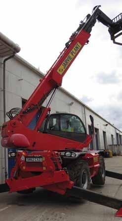25m Rotating Telescopic FLTTR025 9,020mm 2,425mm MRT2540P+ 3,025mm CAPACITY 4 Ton 25 metres lift height in complete safety for high lifts. Small footprint. 4ton lift capacity.