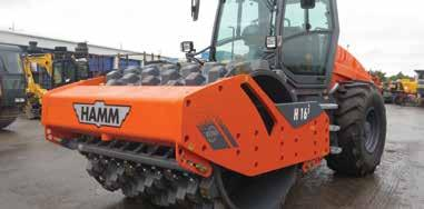 16 tonne Self-propelled ROLR2016 HAMM H16i 16T Self-propelled Padfoot ROLR2016 HAMM H16iP Automatic traction and slip control - Max