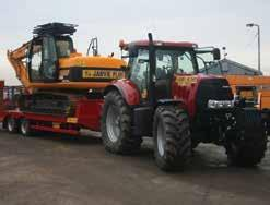 terrain, towable by 150hp tractor 16ton low