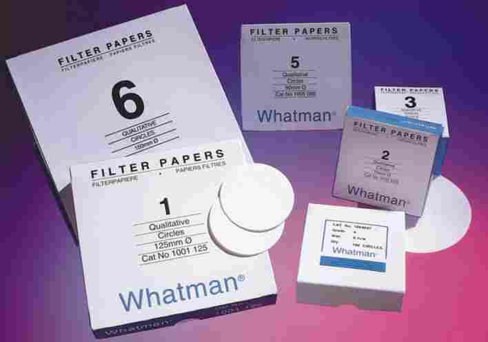 Filter Papers & Membranes Cellulose filter papers Qualitative Filter Papers Grade 4, 5 & 6 Grade 4 filter paper is used when high flow rates in air pollution monitoring are required and the