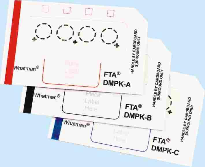 Specimen Collection Cards & Devices Elutrap Electroelution DMPK System cards TM FTA DMPK cards (Drug Metabolism & Pharmaco Kinetics) An easy & convenient way of collecting, shipping & storing a wide